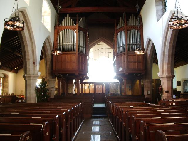 St Kentigern's Parish Church, Crosthwaite, Keswick, Organ