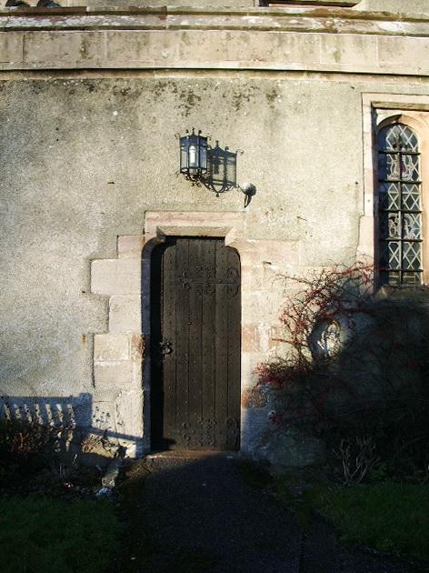 St Kentigern's Parish Church, Crosthwaite, Keswick, Doorway
