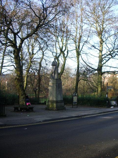 Statue, Winckley Square, Preston