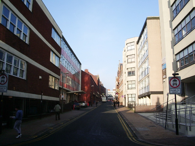 Guildhall Street, Preston