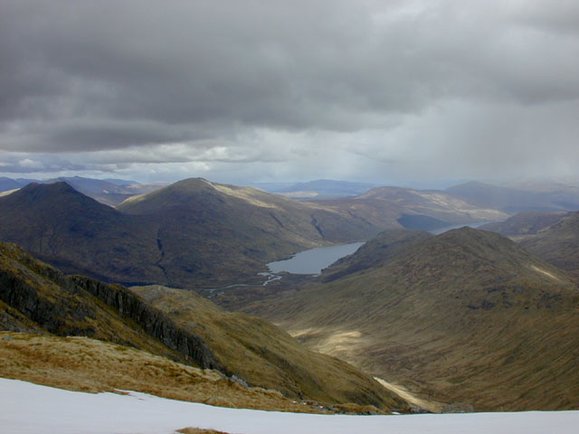 View northeast  from Sgurr Thuilm