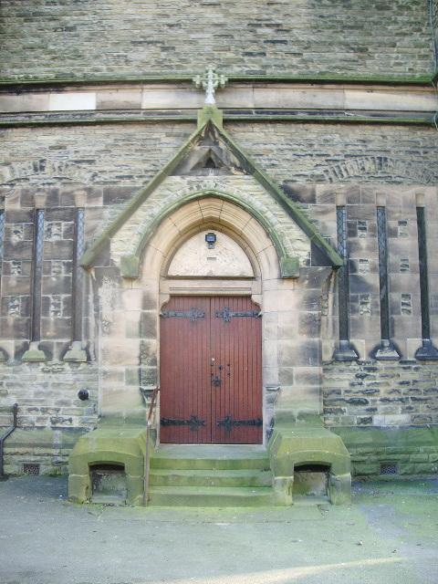 Our Lady & St Patrick Catholic Church, Walton-le-Dale, Doorway