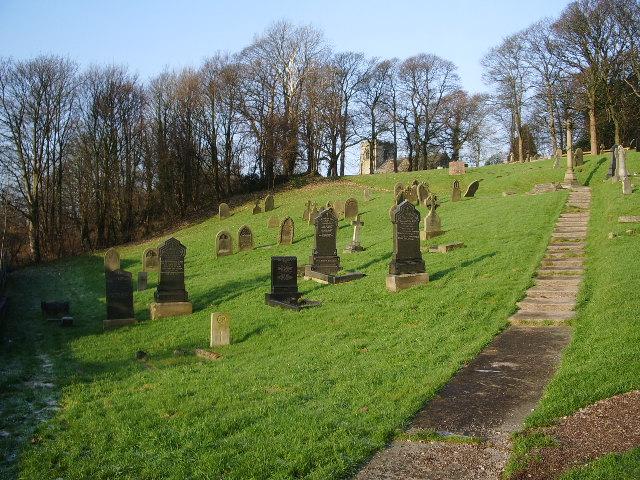 Our Lady & St Patrick Catholic Church, Walton-le-Dale, Graveyard