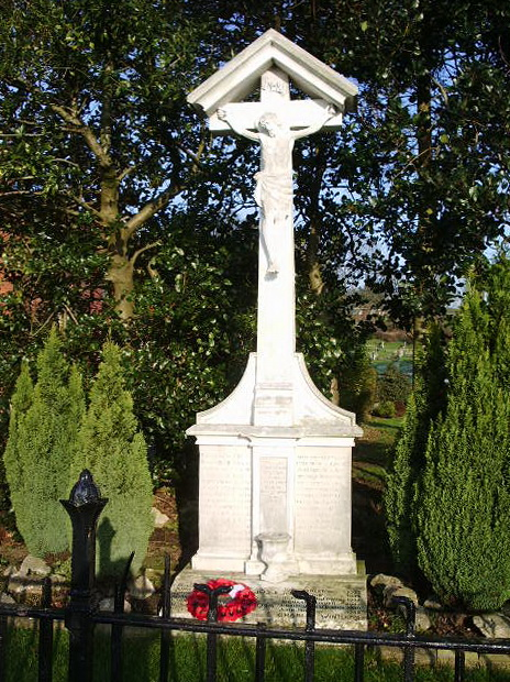 Our Lady & St Patrick Catholic Church, Walton-le-Dale, War Memorial