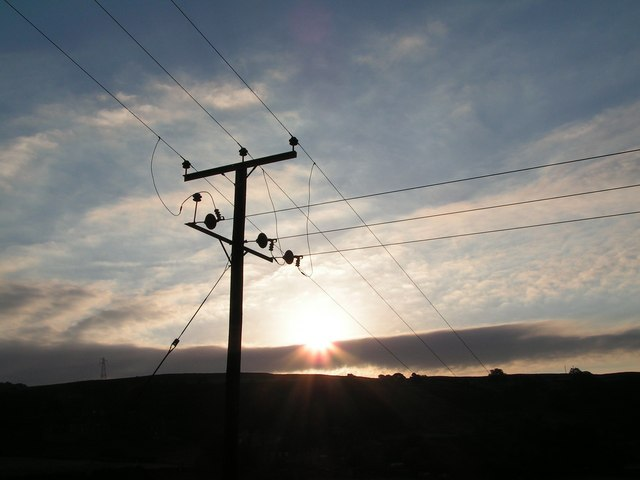 Sun set near Eastmorton