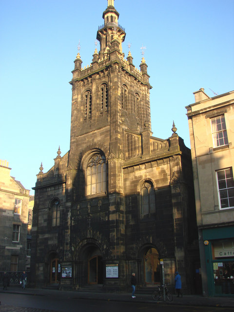 The United Augustine Church, George IV Bridge