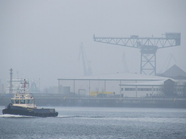 "Tug ""Bruiser"" off Greenock"