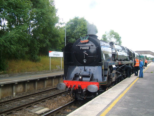 Unique Locomotive No.71000. Duke of Gloucester.