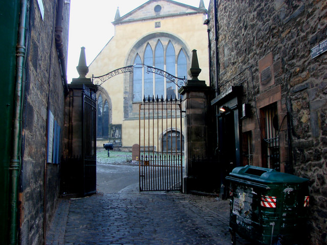 The Entrance to Greyfriars Churchyard