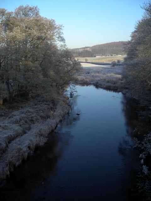 Cairn Water from Dalgonar Bridge