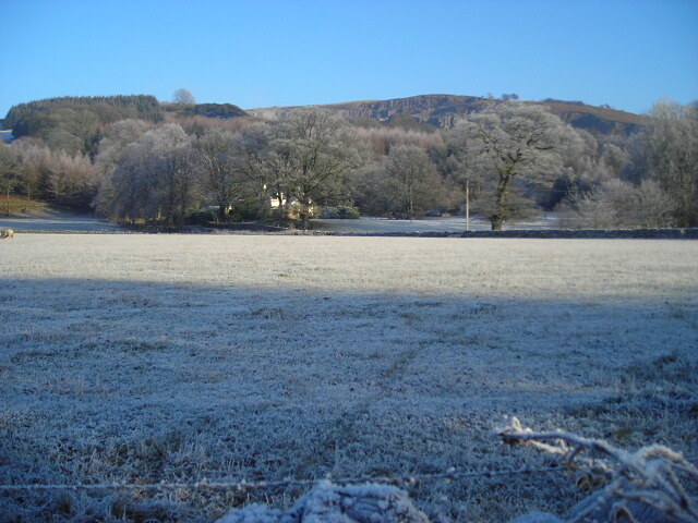 Frosty Fields at Lower Stepford