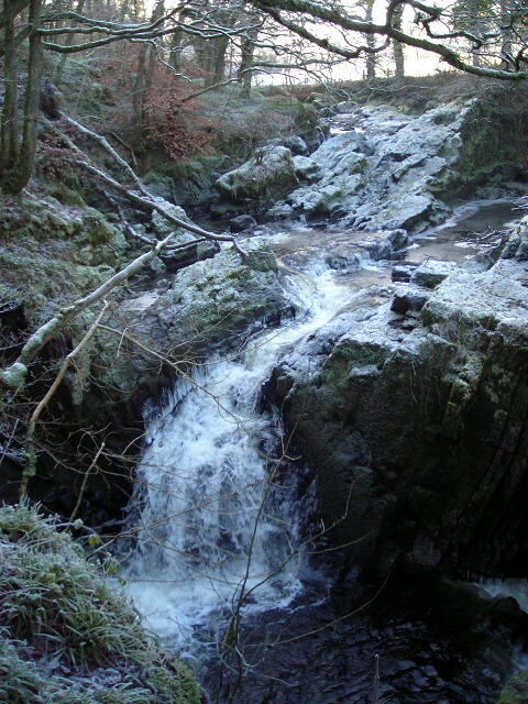 Falls at Routin Bridge