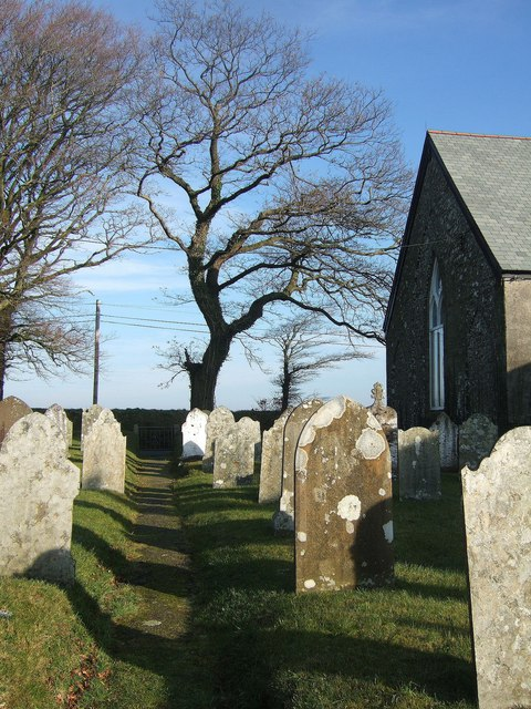 Graveyard,Trevadlock Cross Chapel