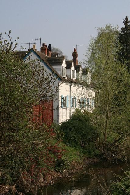 Houses by River Salwarpe