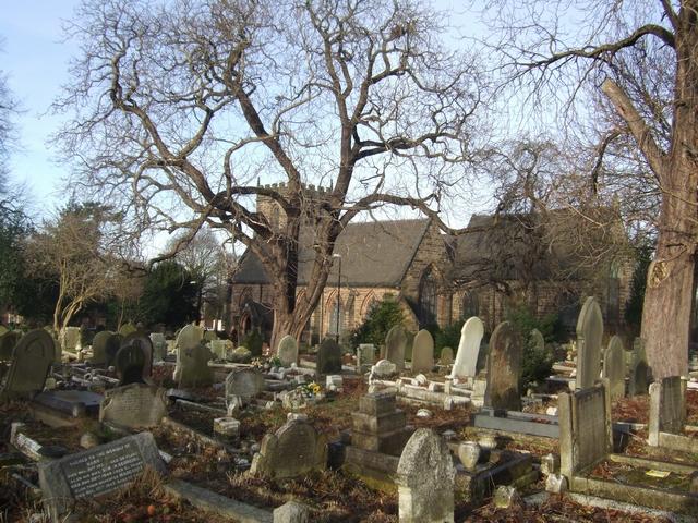 Bushbury Churchyard