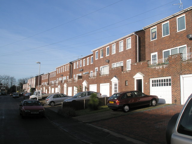 Town houses in Old Rectory Road