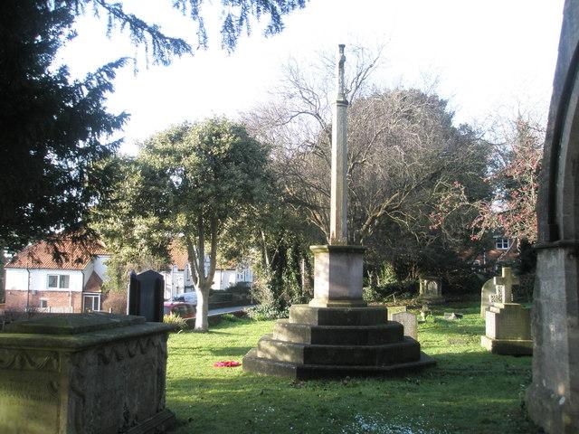 War Memorial at st Andrew's Farlington