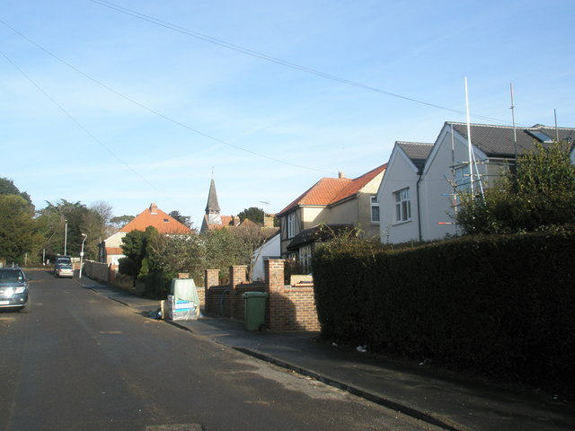 Looking northwards up St Andrew's Road