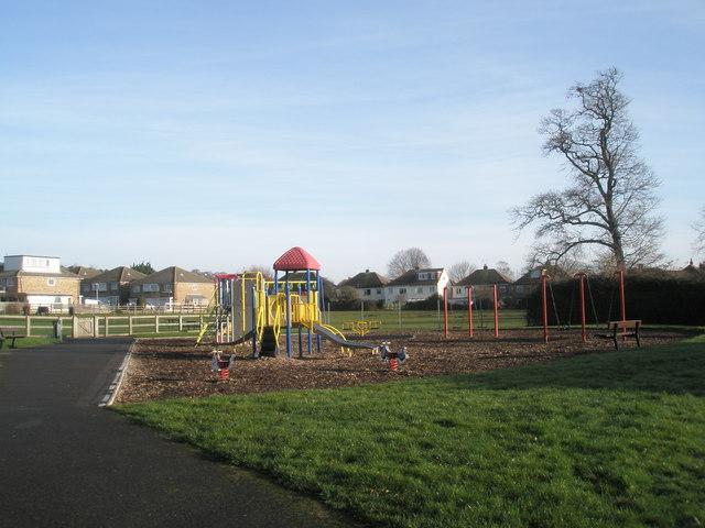 Children's playground in East Lodge Park
