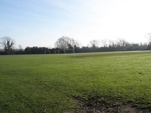 Football pitches at East Lodge Park