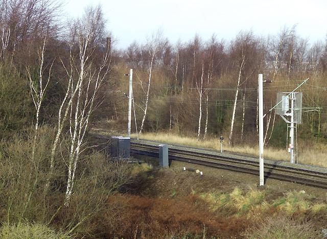 Railway Line, Spring Vale, Wolverhampton