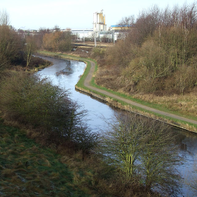 BCN Canal at Spring Vale, Wolverhampton