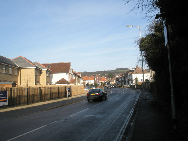 Looking northwards up Lower Farlington Road