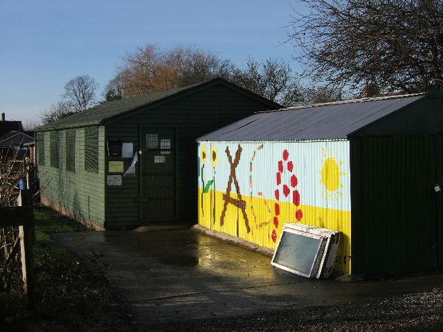 Hoole Allotments and Garden Association's shop