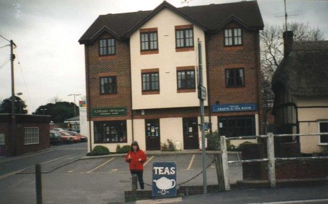 Tea shop at Pewsey