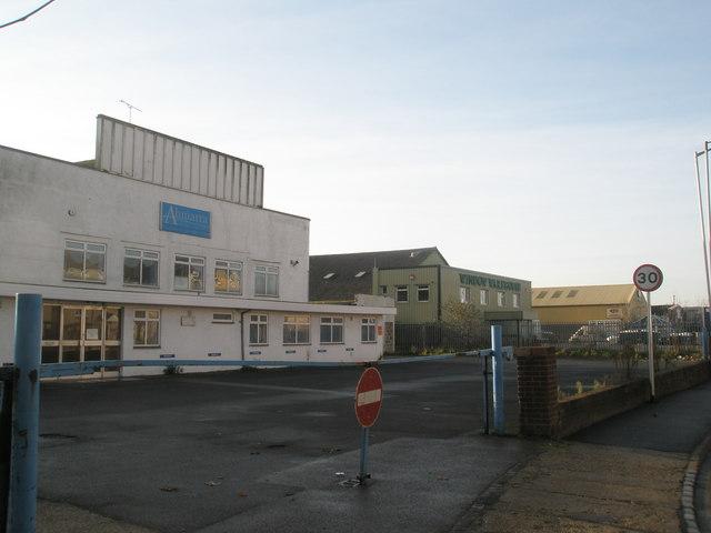 Start of Farlington Industrial Estate
