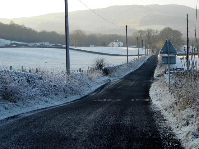 Frosty Fields Near Nether Yett