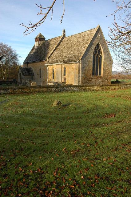 Hailes Church and Hailes Labyrinth
