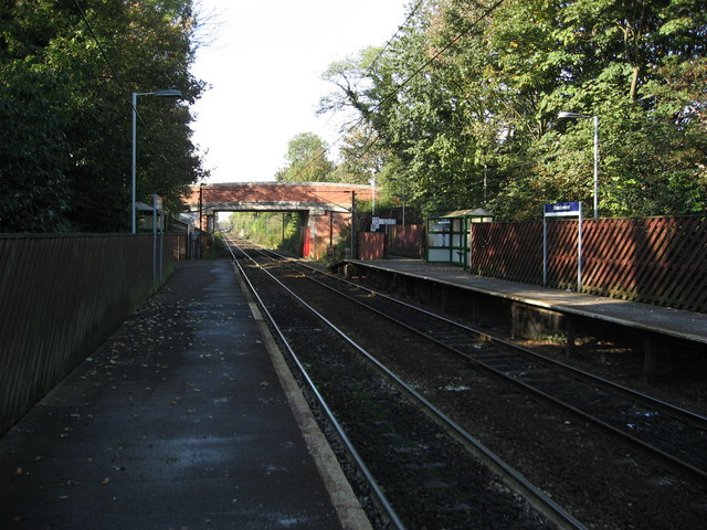 Woodsmoor Railway Station