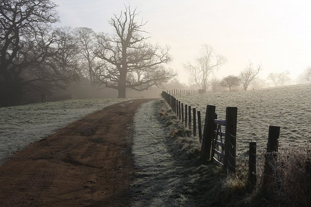Track to Ickworth House
