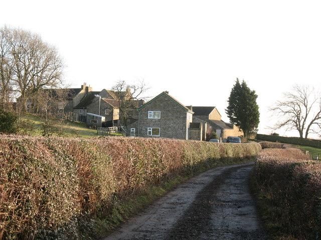 Approaching Foulgate Farm