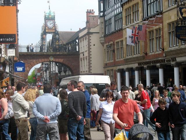 Street Scene - Chester