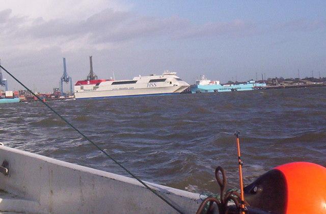Harwich Harbour and Felixstowe Docks