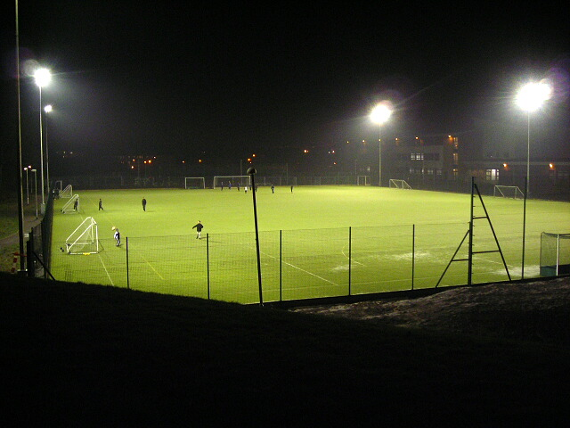 Floodlit Duncanrig Playing Fields