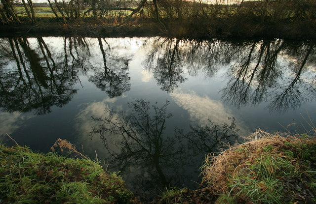 Reflections in the River Tyne