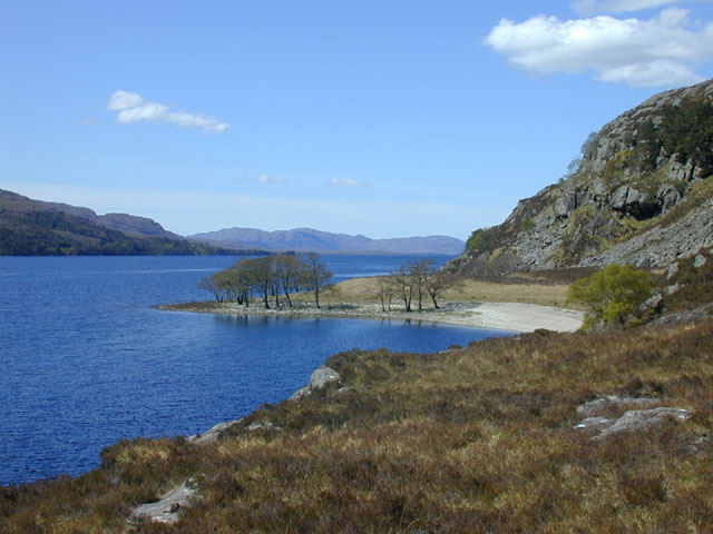 Bay on Loch Maree