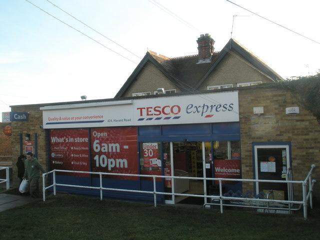 Tesco Express at Farlington