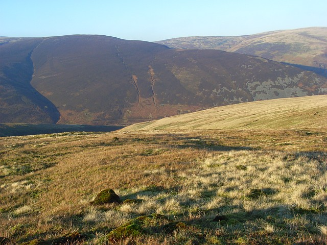 Northwestern slopes of Bowscale Fell