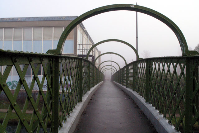 Footbridge over the Erewash Canal