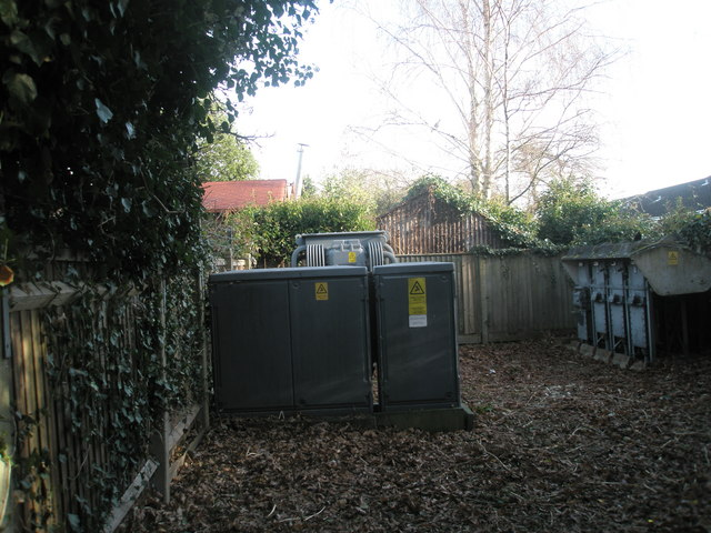Electricity sub-station in Gillman Road