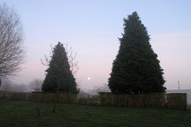Moon rise - West Park Long Eaton