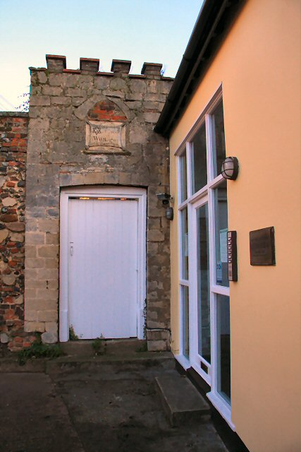 Gateway to the Old Wool Warehouse