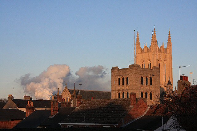 Cathedral and Norman Tower, Bury St Edmunds