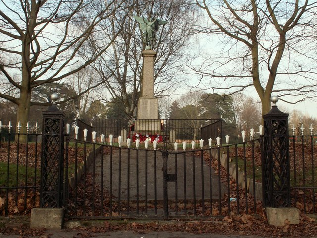War Memorial on East Street, Coggeshall