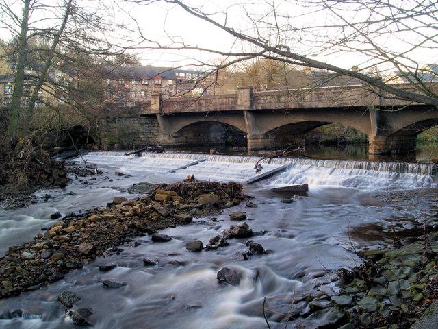 Oughtibridge weir on the River Don