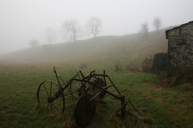 Ancient Farm Machinery at Mantley Field Laithe